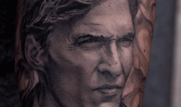About d ej r weni for True detective tattoo