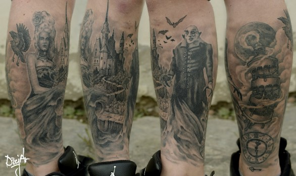 Creepy sleeve for Axel