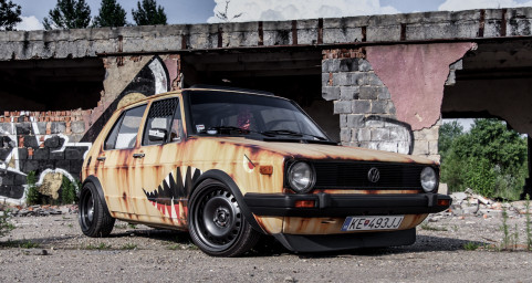 VW Golf mk1 Rat style